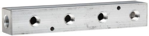 Manifold Bar 300 (Dixon AMF32 Aluminum Air Fitting, Bar Manifold, 1/4