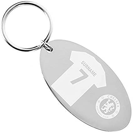 Chelsea Personalised Shirt Keyring