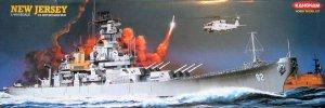 New Jersey U.S. Navy Battleship BB-62 1/600