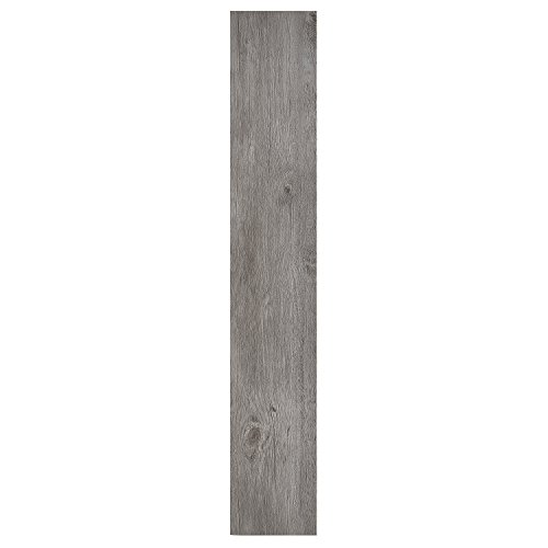 Achig #Achim Home Furnishings VFP1.2GO10 Achim Home Furnishings Nexus 1.2Mm Vinyl Floor Planks, 6 Inches x 36 Inches, Light Grey Oak, Home Furnishings
