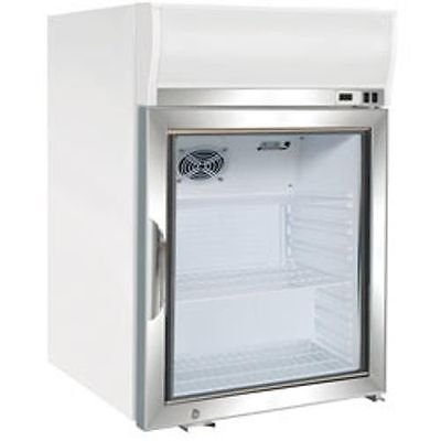 Maxx Cold MXM1-4F Reach In Freezer Countertop Glass Door Merchandiser