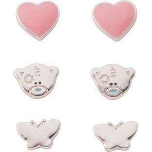 Me to You Studs Set of 3 Earrings Tatty Teddy Bear