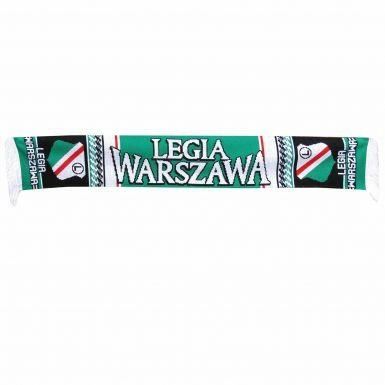 Football Fans Scarf Poland Legia Warsaw SA Wojskowi 100/% Acrylic