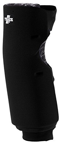 Adams USA Trace Long Style Softball Knee Guard (Small, Black)