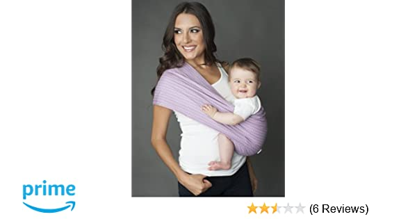 da06668cba1 Amazon.com   Seven Everyday Slings Infant Carrier Baby Sling Koi Purple  Size 4 Medium   Child Carrier Slings   Baby