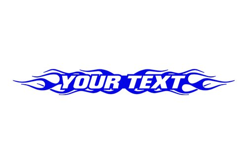 esign #100 Your Custom Text Personalized Customized Lettering Flame Flaming Windshield Decal Sticker Vinyl Graphic Rear Back Window Banner Car Truck | 36