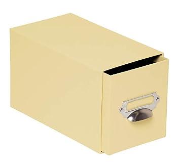 Rössler 1327452560 - Caja para CD, color amarillo: Amazon.es: Oficina y papelería