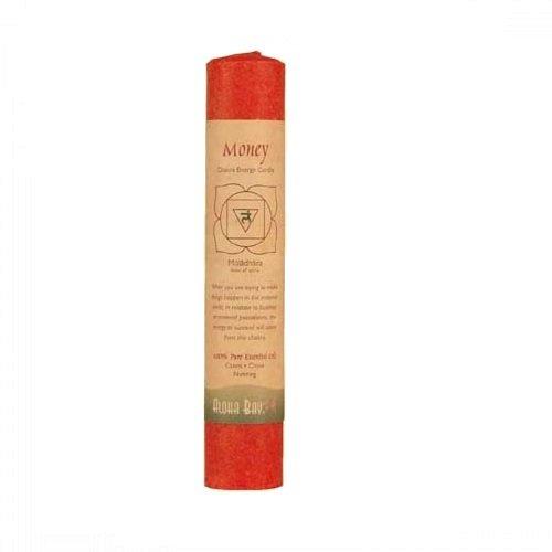 Aloha Bay Chakra Pillar Candle, 8-Inch, Red, 8 inches,