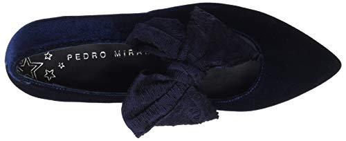 24035 à MIRALLES Marino Marino Cheville Bleu Femme Ballerines Bride PEDRO tq4WPnx5ww