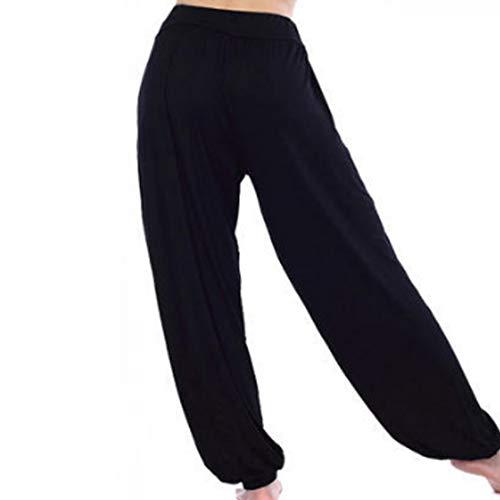 Yoga Lanterna Huicai Larga Elasticizzati Donna Pantaloni Gamba Modali Casual Harem SwSvXY