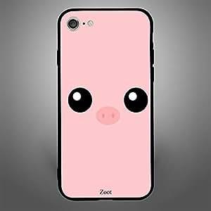 iPhone 8 Pig eyes