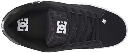 Shoes Bianco Uomo Net Nero Dc nero Sneaker 6adYqw
