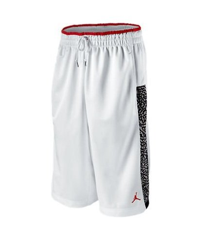 Multicolore Blanc Nike Rétro Basketball Short Rouge 3 wBgIqOZgr