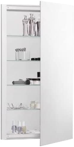 kleankin 24 x 28 Stainless Steel Wall Mount Bathroom Medicine Cabinet with Mirror