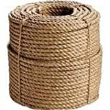 EVERSTRONG 100% Manila Twisted Rope in 600 Ft spool x various sizes, 3/8'',1/2'', 5/8'',3/4'',1'',1-1/4'',2'' (3/4'')