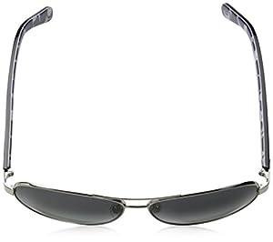 Kate Spade Women's Dalia 2 Aviator Sunglasses, Silver Dots & Gray Gradient 135 mm