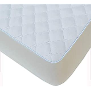 BlueSnail Super Soft Stretchy Fitted Crib Bed Sheet for Standard Crib and Toddler Mattress (White)