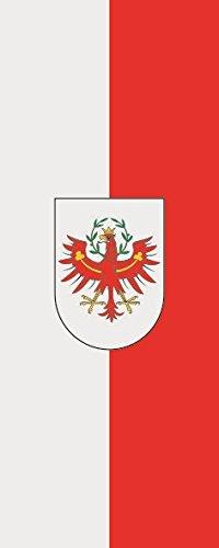 U24Bandiera Bandiera Tirol formato qualità premium 80x 200cm