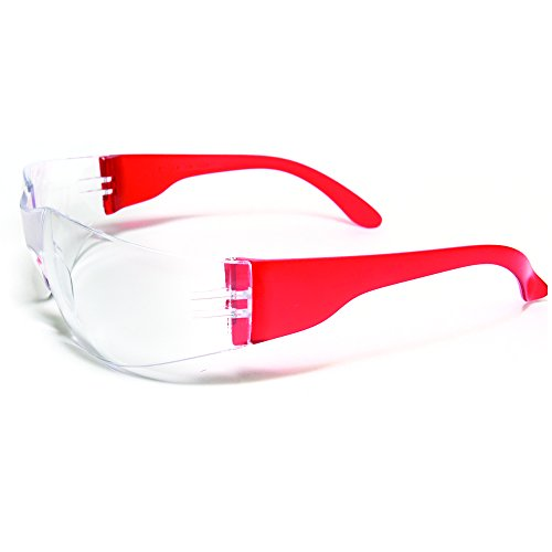 Ultimate UV Protection, Scratch Resistant Clear Lenses Safety Glasses, Pack of 12 by ULTIMATE SAFETY GLASSES (Image #4)