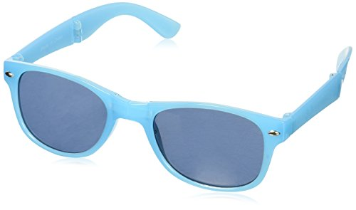 Sizzle Shades Foldable Sunglasses, Blue, One - Sunglasses Sizzle