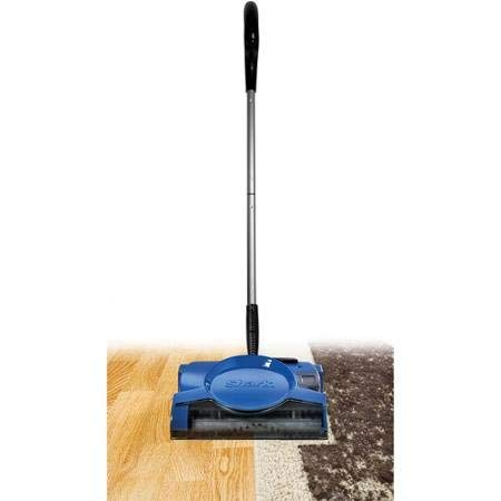 Shark Ultra Lightweight 10'' Rechargeable Floor and Carpet Sweeper, V2700Z (Renewed)