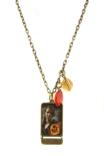 NECA The Hunger Games Movie Necklace Single Chain Necklace Girl on Fire -