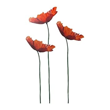ikea slatthult - decoration stickers, poppy: amazon.co.uk: kitchen ... - Stickers Murali Ikea