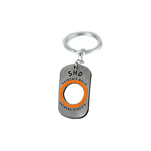 Tom Clancy's The Division Collector's SHD Logo Keychain Alloy Pendant 1.6