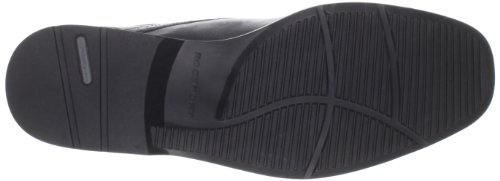 Rockport Scarpe stringate Business Lite Moc Toe, Uomo Nero (Schwarz (Black))
