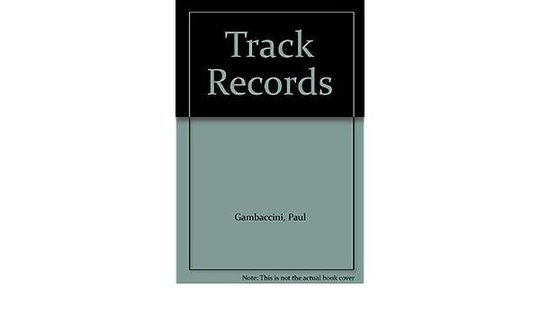 Track Records Paul Gambaccini 9780241114476 Amazon Books