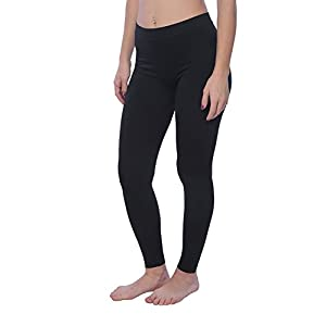 Hanes Women's Long And Lean Legging T251 - Black (2X-Large)