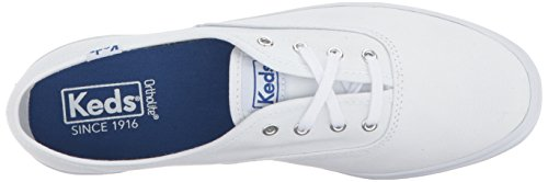Women's Leather Original Sneaker White Leather Champion Keds 0xTB7qAT