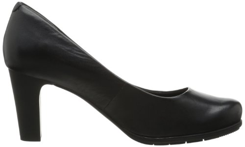 Rockport Women's Total Motion 75mm Pump,Black Smooth,9 W US