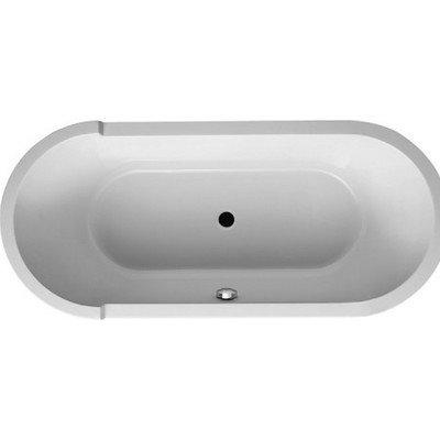 Duravit Starck Bathtub Drop-In Tub, White