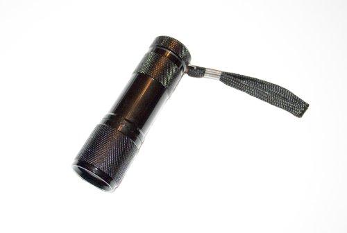 - TigerTech 9 LED UV Flashlight 390-395nm