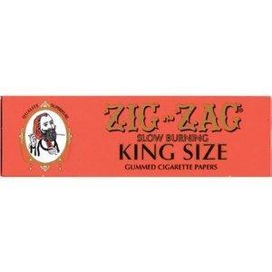 Zig Zag Orange King Size Slow Burning