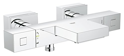 Thermostatic Bath Shower Mixer - GROHE 34508000 Grohtherm Cube Thermostatic Bath & Shower Mixer
