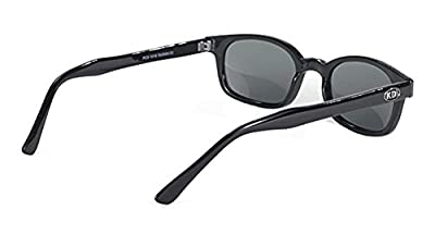 Original X-KD's Biker Polarized Lenses Black Frames 20% Sunglasses