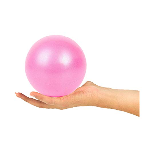 XIECCX Pilates Gymnastic Yoga Ball - 9 Inch for Stability Exercise Training Gym Anti Burst and Slip Resistant Balls Balance Ball