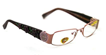 8030e213f880 ED HARDY EYEGLASSES EHO711 EHO 711 PINK SAPPHIRE PINK OPTICAL RX   Amazon.co.uk  Clothing