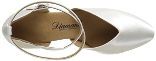 Diamant - Womens Dance Shoes 105-068-092 Satin White eMXqso