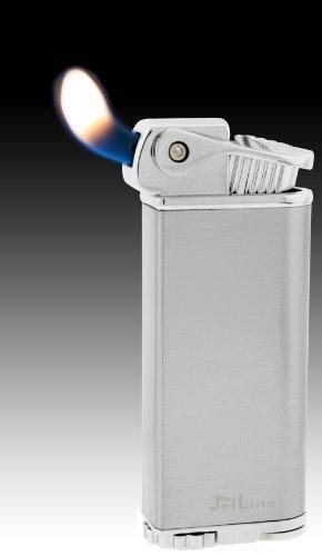 - JetLine Bolla Soft Flame Lighter (Chrome Silver)