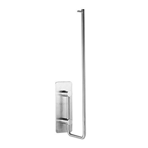 (Xigeapg Stainless Steel Wall Mount Horizontal Paper Towel Holder Kitchen Paper Towel Rack Dispenser Rack for Tissue Roll for Home Bar)