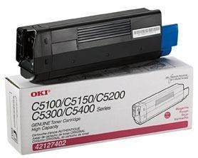 Remanufactured Okidata 42127402 Magenta Laser Toner