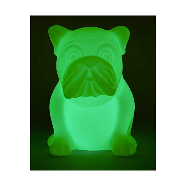 Bigben Sound btlsdog - Enceinte Wireless en Forme de Bulldog (Bluetooth, MP3, USB) Multicolore 3