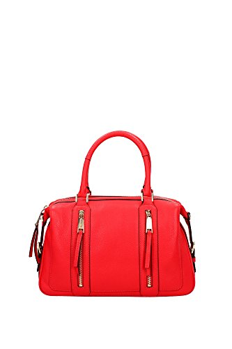 Bowling Bags Michael Kors Women Leather Coral 30S6GJQS3LCORALREEF Red 12.5x20.5x33 cmUK