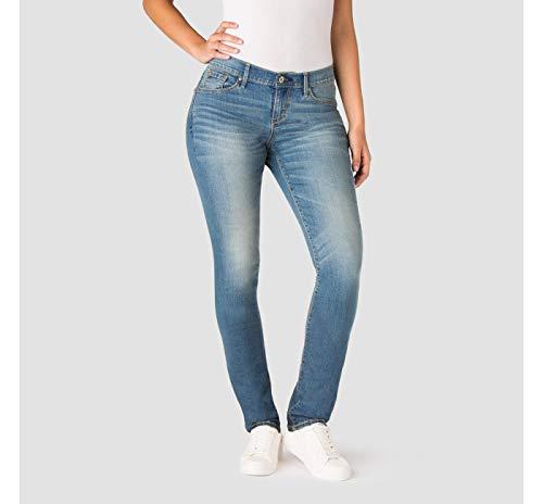 Denizen from Levi's Women's Curvy Slim Jeans - Blue Ice 4