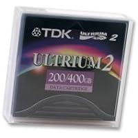 Cartucho TDK D2405-LT02 Ultrium 2, capacidad de 200 GB sin comprimir/400 GB comprimido