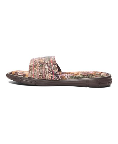 Under Armour Damen Ignite Camo VII Slide Cleveland Brown / Perfektion