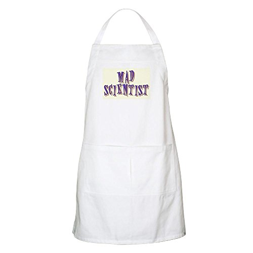 (CafePress MAD Scientist - BBQ Apron Kitchen Apron with Pockets, Grilling Apron, Baking Apron)